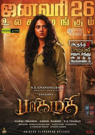 Bhaagamathie 2018 HDRip 350MB Hindi Dubbed 480p Watch Online Full Movie Download bolly4u