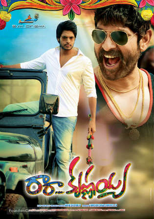 Ra Ra Krishnayya 2014 HDRip 400MB UNCUT Hindi Dual Audio 480p Watch Online Full Movie Download bolly4u
