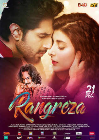 Rangreza 2017 WEBRip 350MB Full Urdu Movie Download 480p