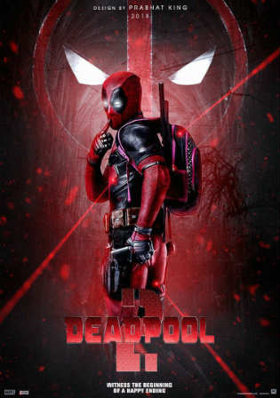 Deadpool 2 2018 WEB-DL 350Mb Full English Movie Download 480p ESub watch online free worldfree4u 9xmovies