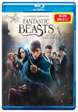 Fantastic Beasts and Where to Find Them 2016 BRRip 400MB Hindi Dual Audio ORG 480p Watch Online Full Movie Download bolly4u