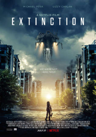 Extinction 2018 WEB-DL 300MB Full English Movie Download 480p ESub Watch Online Free bolly4u
