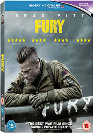 Fury 2014 BluRay 1GB Hindi Dubbed Dual Audio ORG 720p Watch Online Full Movie Download Worldfree4u 9xmovies