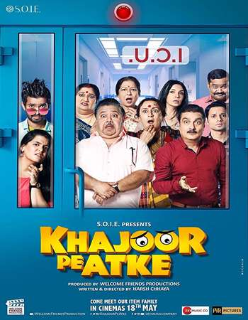 Khajoor Pe Atke 2018 Movie DTHRip Hindi 330MB Download 480p x264