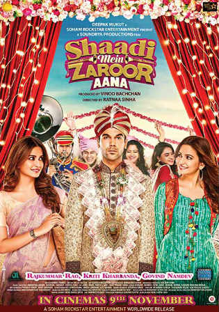 Shaadi Mein Zaroor Aana 2017 WEBRip 400MB Full Hindi Movie Download 480p Watch Online Free bolly4u