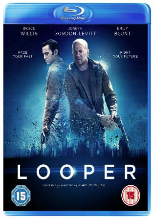 Looper 2012 BluRay 850Mb Full Hindi Dual Audio Movie Download 720p Watch Online Free Worldfree4u 9xmovies