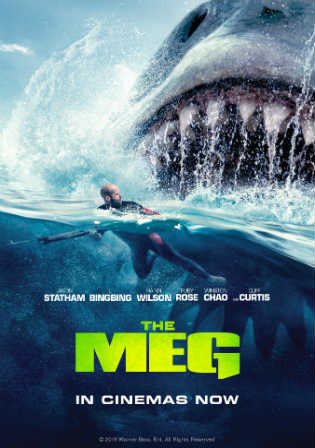 The Meg 2018 HDCAM 800Mb Full Hindi Dual Audio Movie Download 720p Watch Online Free Worldfree4u 9xmovies