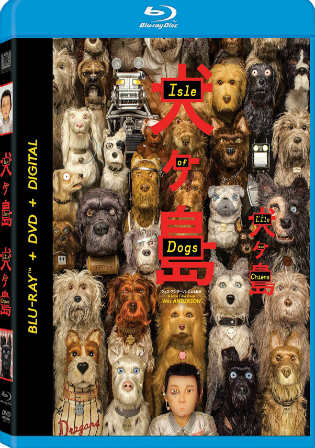 Isle Of Dogs 2018 BluRay 850MB Full Hindi Dual Audio Movie Download 720p Watch Online Free Worldfree4u 9xmovies