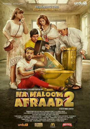 Na Maloom Afraad 2 2017 HDRip 850MB Full Urdu Movie Download x264 Watch Online Free bolly4u