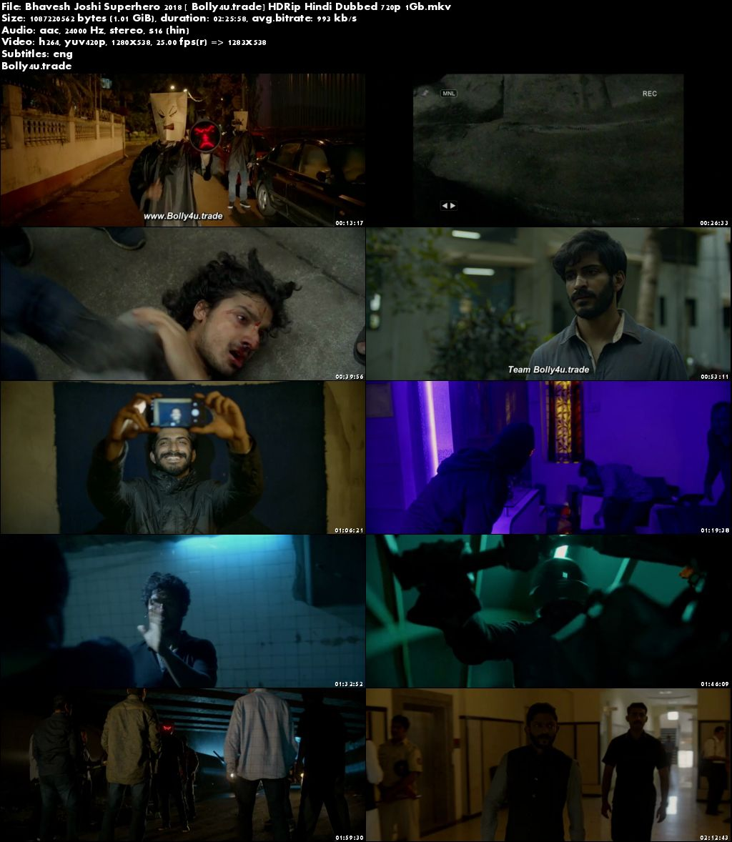 Bhavesh Joshi Superhero 2018 HDRip 400MB Full Hindi Movie Download 480p