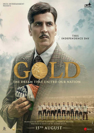 Gold 2018 Pre DVDRip 350MB Full Hindi Movie Download 480p Watch Online Free bolly4u