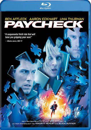 Paycheck 2003 BluRay 400MB Hindi Dual Audioi 480p ESub Watch Online Free Download Worldfree4u 9xmovies