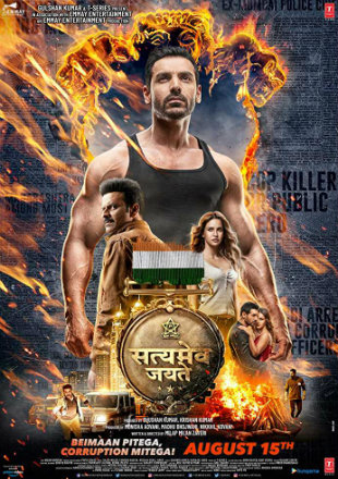 Satyameva Jayate 2018 Pre DVDRip 750Mb Full Hindi Movie Download x264 Watch Online Free Worldfree4u 9xmovies