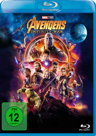 Avengers Infinity War 2018 BluRay 1GB Hindi Dubbed Dual Audio ORG 720p ESub Watch Online Full Movie Download bolly4u