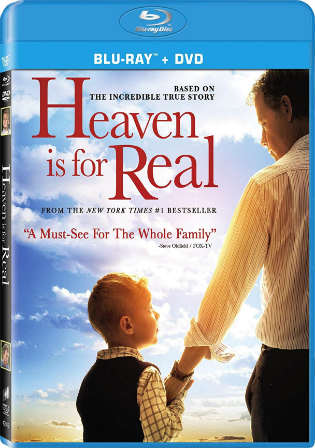 Heaven Is for Real 2014 HDRip 300MB Hindi Dubbed Dual Audio 480p Watch Online Full Movie Download Worldfree4u 9xmovies