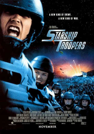 Starship Troopers 1997 BluRay 850MB Hindi Dual Audio 720p watch Online Full Movie Download Worldfree4u 9xmovies