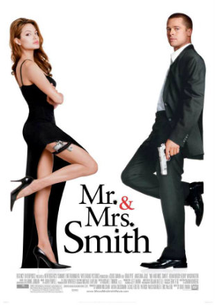 Mr And Mrs Smith 2005 Movie Download Hindi BluRay Dual Audio 720p