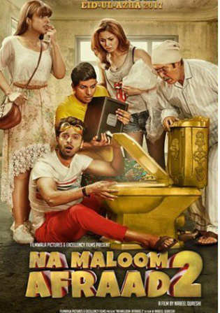 Na Maloom Afraad 2 2018 HDRip 900Mb Urdu 720p Watch Online Full Movie Download bolly4u