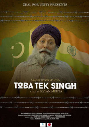 Toba Tek Singh 2018 HDRip 700MB Full Hindi Movie Download 720p Watch Online Free bolly4u