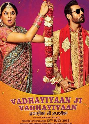 Vadhaiyan Ji Vadhaiyan 2018 Movie DvDRip Download Non Retail 310MB