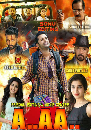 A Aa 2018 HDTV 350MB Full Hindi Dubbed Movie Download 480p Watch Online Free bolly4u