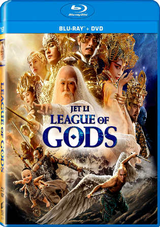 League Of Gods 2016 BluRay 350MB Hindi Dual Audio 480p ESub Watch Online Full Movie Download Worldfree4u 9xmovies