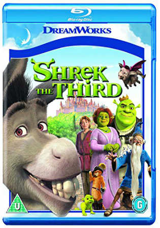 Shrek The Third 2007 BluRay 300MB Hindi Dubbed Dual Audio 480p Watch Online Full Movie Download bolly4u