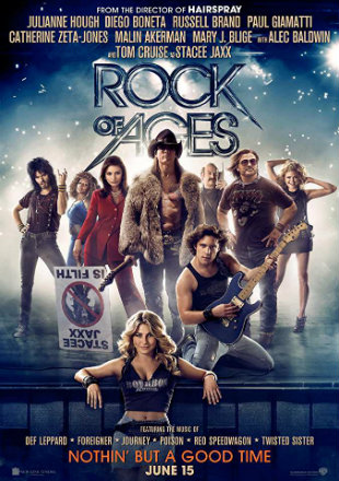 Rock of Ages 2012 BluRay Downlaod Hindi 900MB Dual Audio 720p