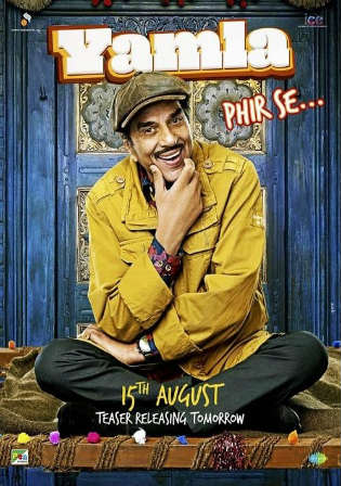 Yamla Pagla Deewana Phir Se 2018 Pre DVDRip 400mb Full Hindi Movie Download 480p Watch Online Free Worldfree4u 9xmovies