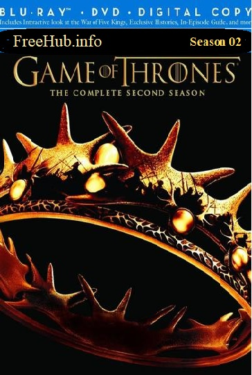 Game Of Thrones S02E8 BRRip Hindi 390MB Dual Audio ORG 720p