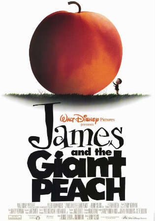 James And The Giant Peach 1996 BRRip 250MB Hindi Dual Audio 480p watch Online Full Movie Download Worldfree4u 9xmovies