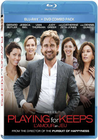 Playing For Keeps 2012 BluRay 350MB Hindi Dual Audio 480p Watch Online Full Movie Download Worldfree4u 9xmovies