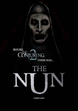 The Nun 2018 HDCAM 700MB Full Hindi Dual Audio Movie Download 720p Watch Online Free Worldfree4u 9xmovies
