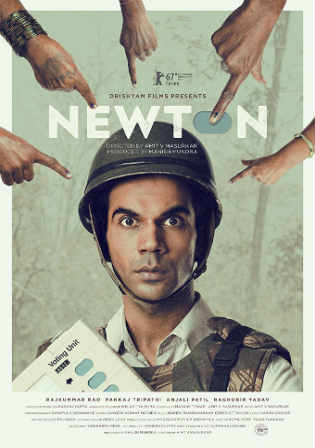 Newton 2017 BluRay 350MB Full Hindi Movie Download 480p ESub Watch Online Free Worldfree4u 9xmovies