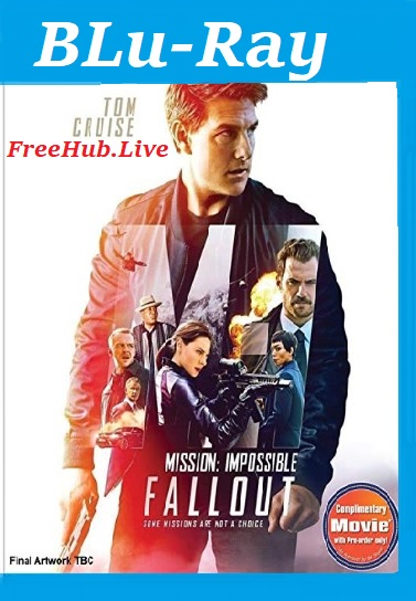 Mission Impossible Fallout 2018 Hindi 999MB Dual Audio HC HDRip 720p