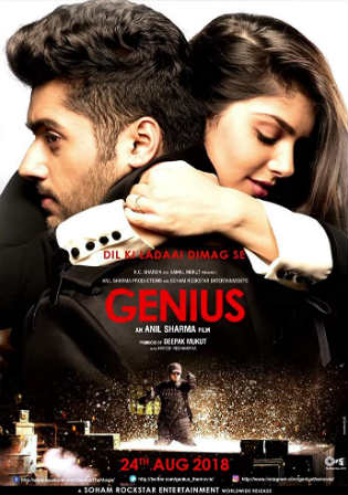 Genius 2018 HDRip 400MB Full Hindi Movie Download 480p Watch Online Free bolly4u