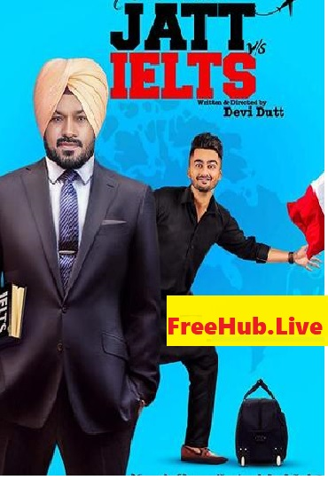 Jatt vs IeLts 2018 Movie Download HDRip 700MB Punjabi 720p