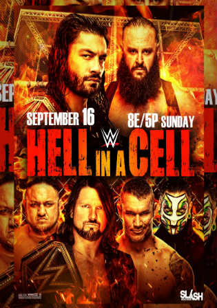 WWE Hell In A Cell 2018 PPV WEBRip 850MB 480p x264 Download
