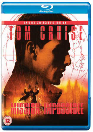 Mission Impossible 1996 BluRay 350Mb Hindi Dual Audio 480p