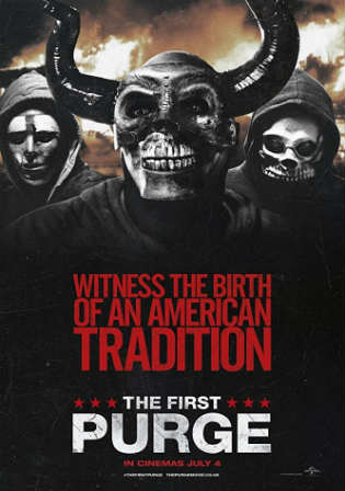 The First Purge 2018 WEB-DL 300Mb Full English Movie Download 480p ESub