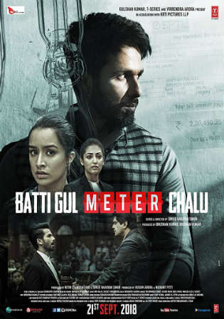 Batti Gul Meter Chalu 2018 Pre DVDRip 700Mb Full Hindi Movie Download x264