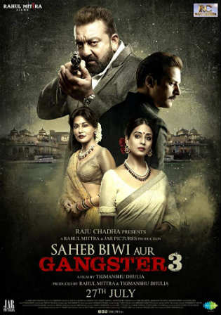 Saheb Biwi Aur Gangster 3 2018 HDRip 400Mb Full Hindi Movie Download 480p