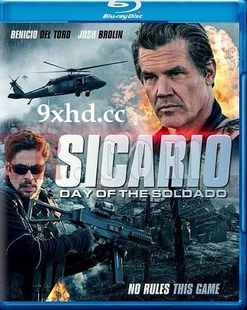 Sicario Day Of The Soldado 2018 BluRay 300MB English Movie 480p ESub