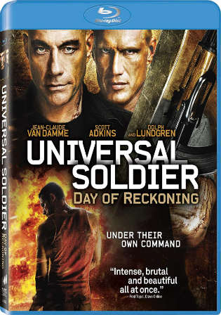 [18+] Universal Soldier Day Of Reckoning 2012 BRRip 850MB Hindi Dual Audio 720p