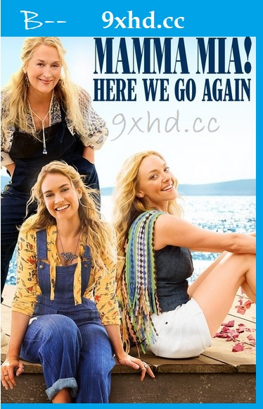 Mamma Mia Here We Go Again 2018 HDRip Download English 720p