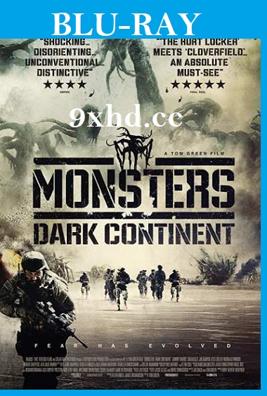 Monsters Dark Continent 2014 Hindi 350MB Dual Audio UNCUT BRRip 480p