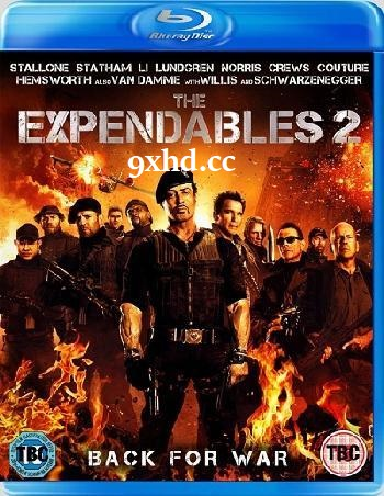 The Expendables 2 2012 Hindi 300MB Dual Audio BluRay 480p ESub