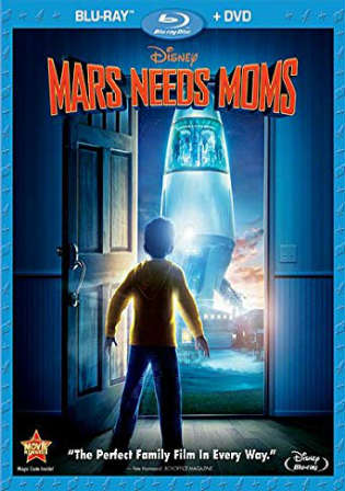 Mars Needs Moms 2011 BRRip 300MB Hindi Dual Audio 480p Watch Online Full Movie download bolly4u