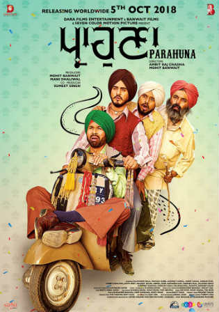 Parahuna 2018 Pre DVDRip 650Mb Full Hindi Movie Download x264 Watch Online Free bolly4u