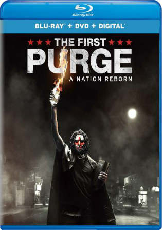 The First Purge 2018 BRRip 300MB English 480p ESub Watch Online Full Movie Download bolly4u